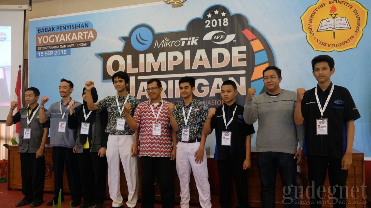 Ini Tiga SMK Finalis Olimpiade Jaringan Mikrotik-APJII 2018 Wilayah DIY-Jateng