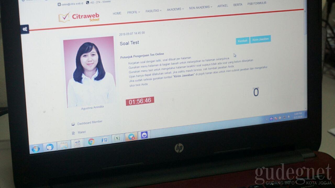 Tugas Online dan Test Online Lewat Web Sekolah