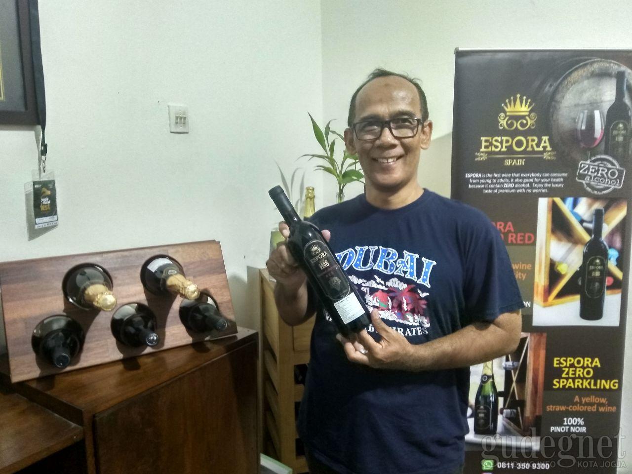 Espora, Wine Berlabel Halal Hadir di Jogja