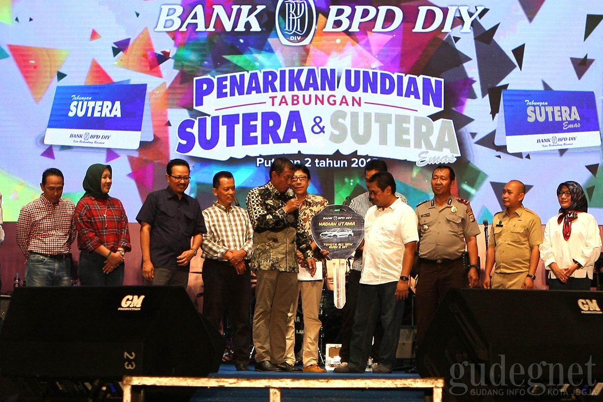 Walikota Haryadi Suyuti Hadiri Pengundian Sutera Bank BPD DIY