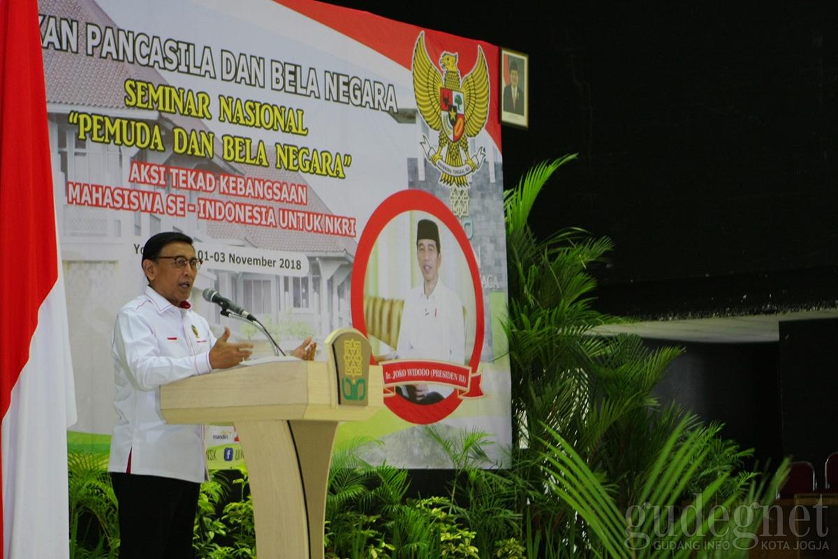 Menkopolhukam: Kalau Tidak Cinta Indonesia 'Kebangeten'