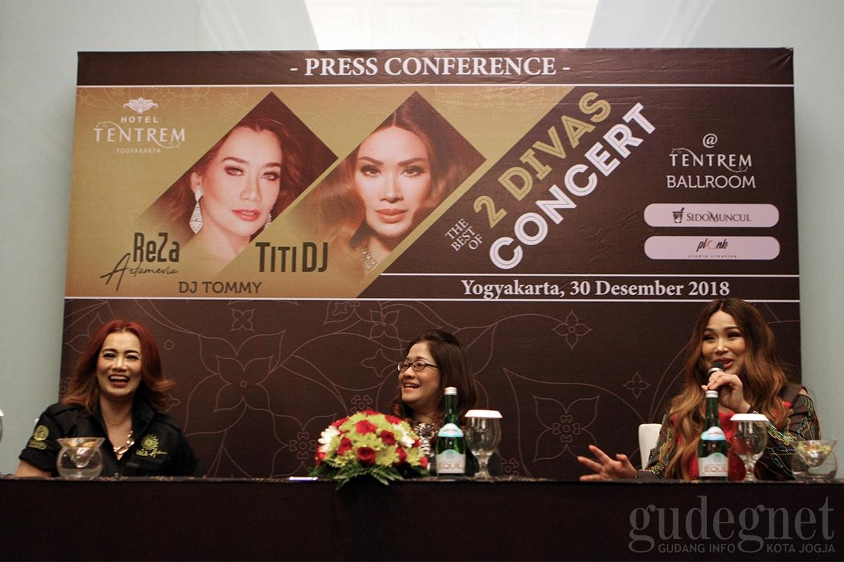 Pergantian Tahun, Hotel Tentrem Gelar Konser The Best Of 2 Diva