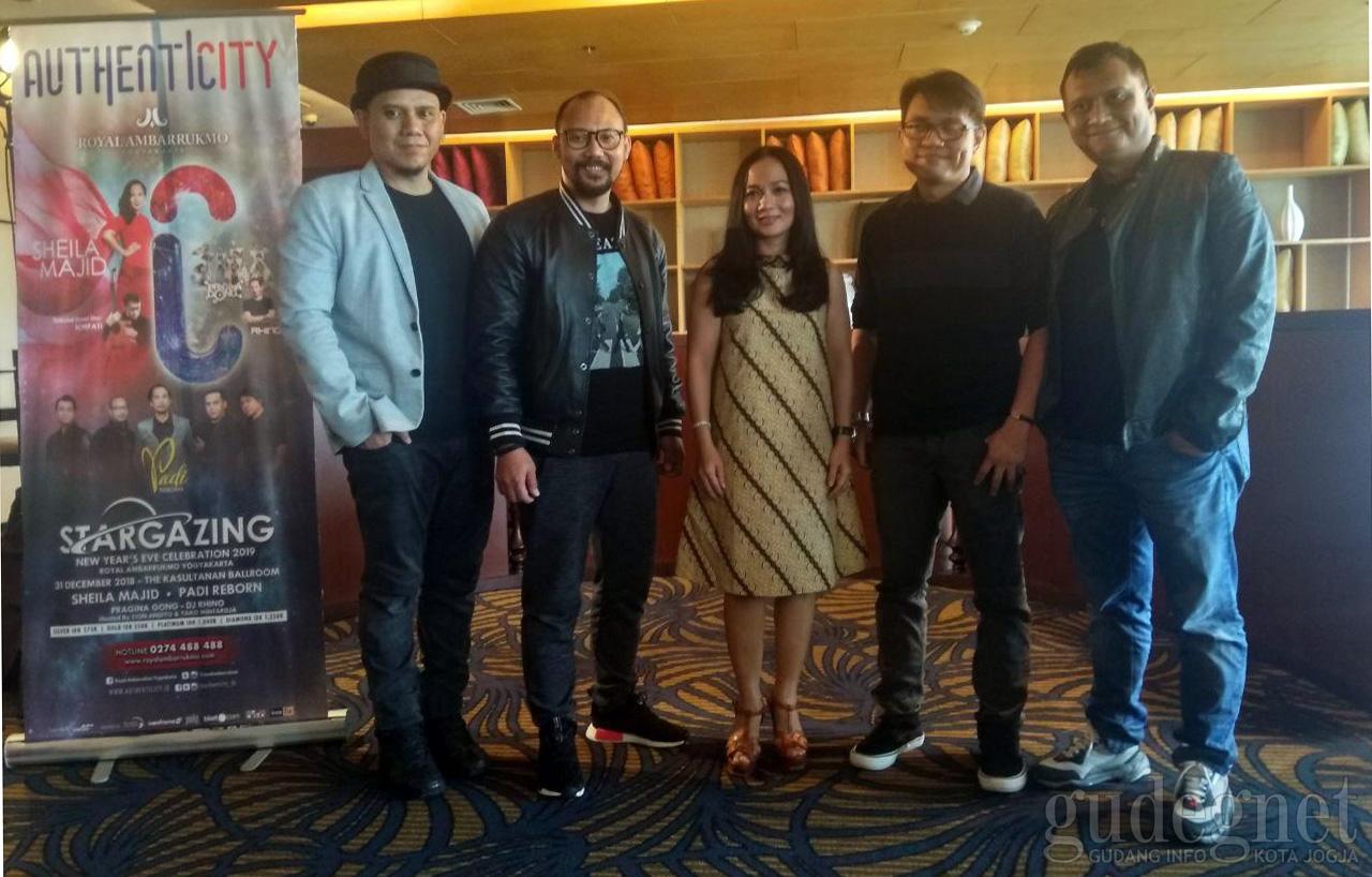 Stargazing Royal Ambarrukmo  hadirkan Sheila Majid ft. Tohpati dan Padi Reborn
