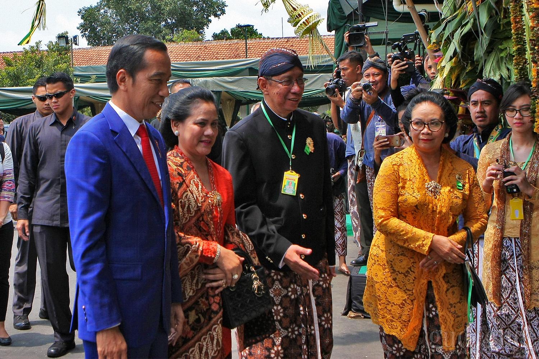 Tamu Kerajaan,Tokoh Nasional hingga Presiden RI Hadiri Dhaup Ageng Puro Pakualaman