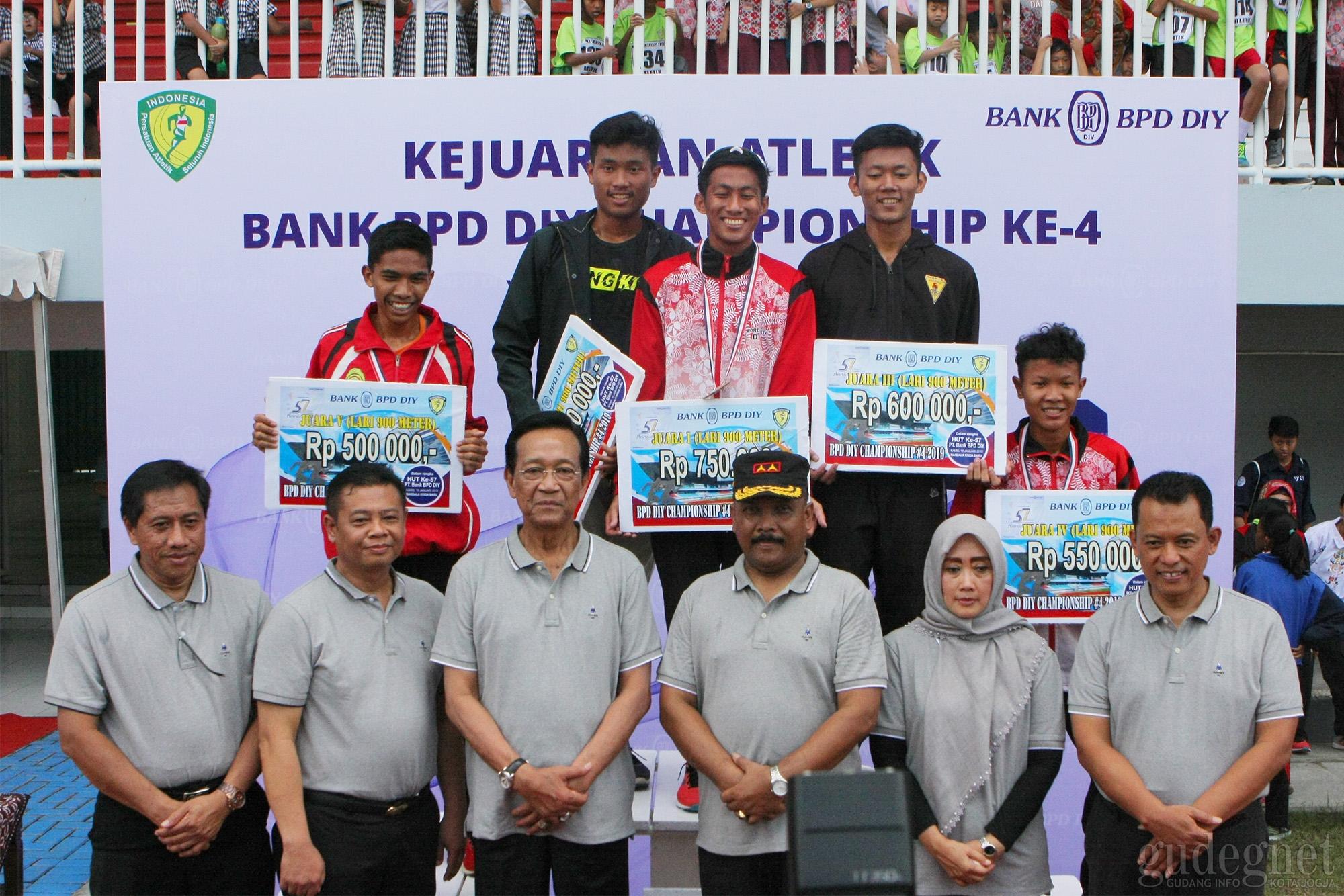 BPD Championship 2019, Kejuaraan Atletik Perdana di Stadion Mandala Krida