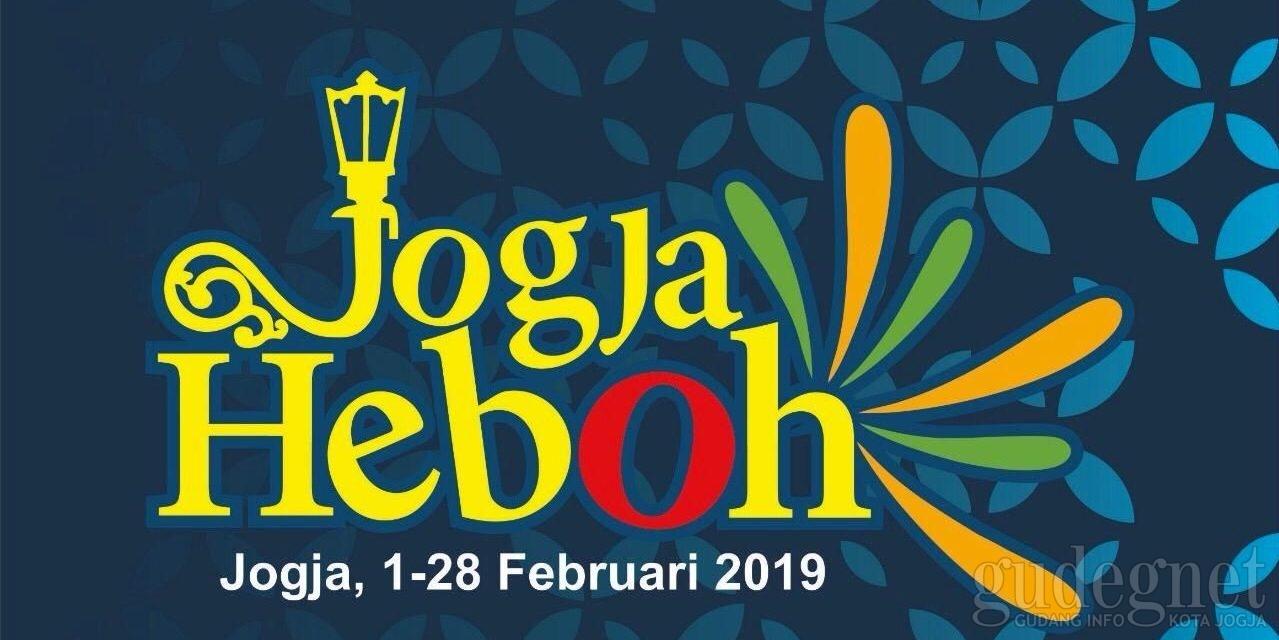 Jadwal Agenda Jogja Heboh 17 Februari-4 Maret 2019