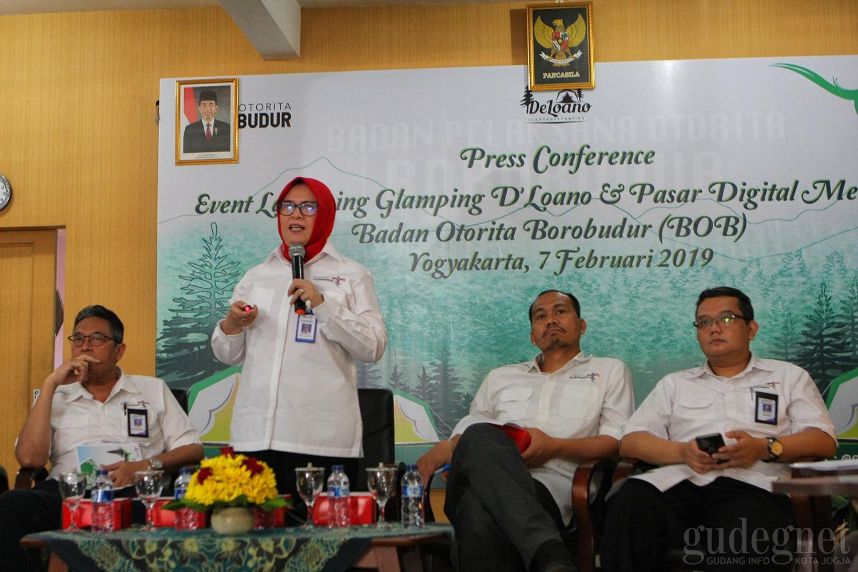 Badan Otorita Borobudur Luncurkan Glamping De Loano dan Pasar Digital Menoreh