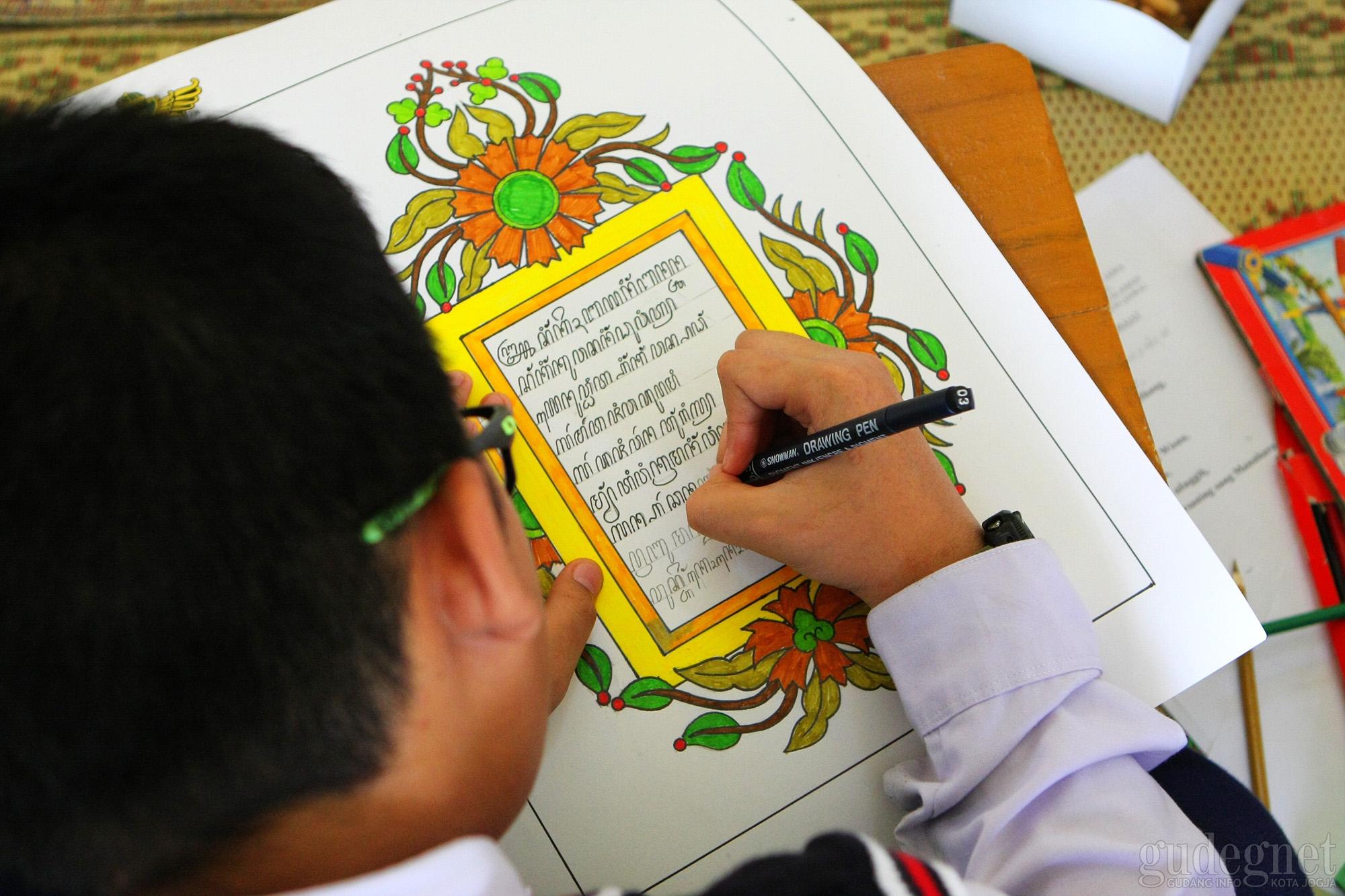 Pakualaman Gelar Lomba Literasi Aksara Jawa Tingkat Nasional
