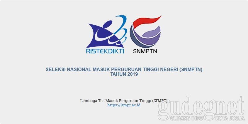 Jangan Lupa, Pendaftaran SNMPTN Paling Lambat 14 Februari 2019