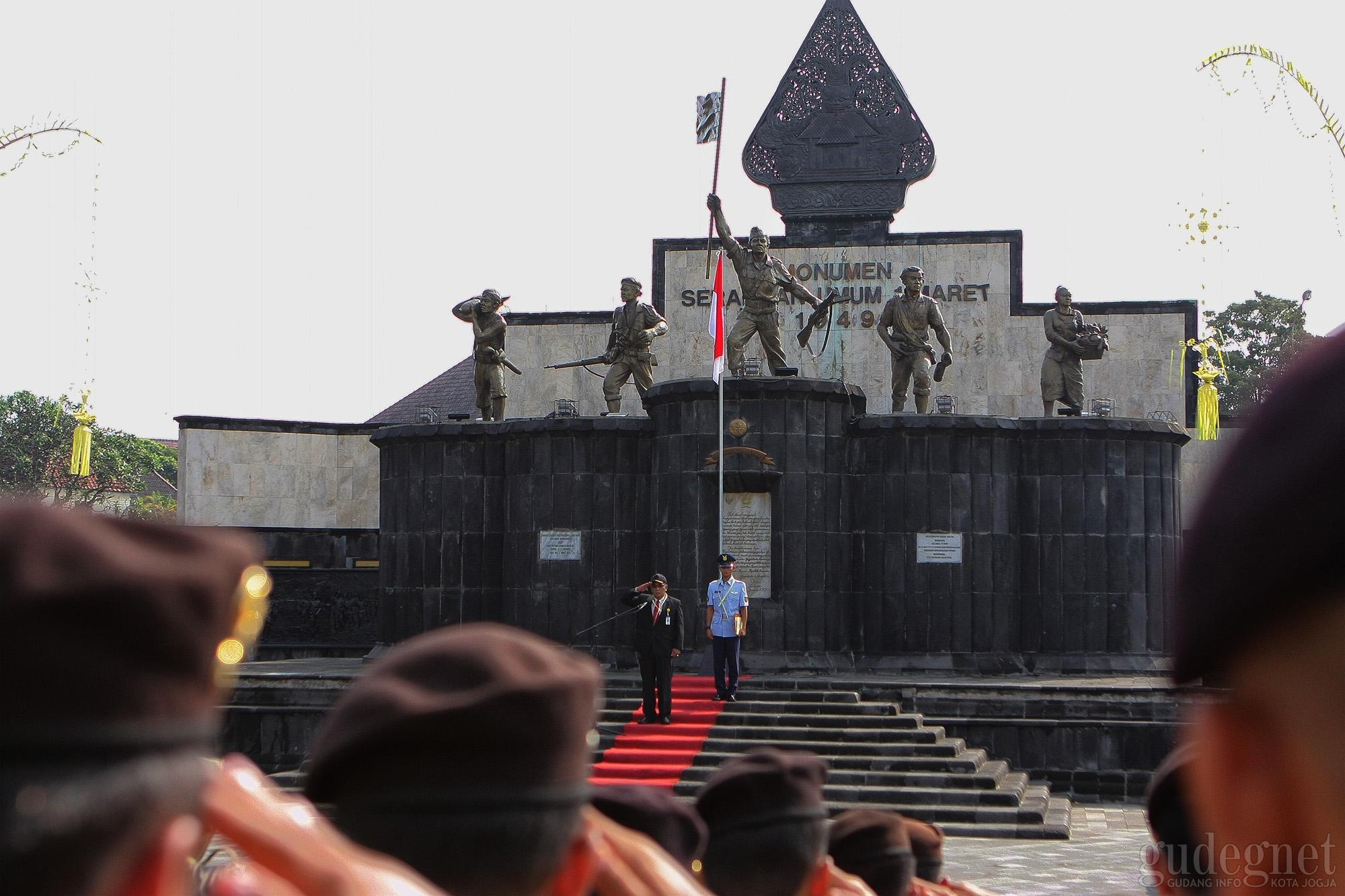 Upacara Peringatan Serangan Umum Satu Maret Berlangsung Khidmat