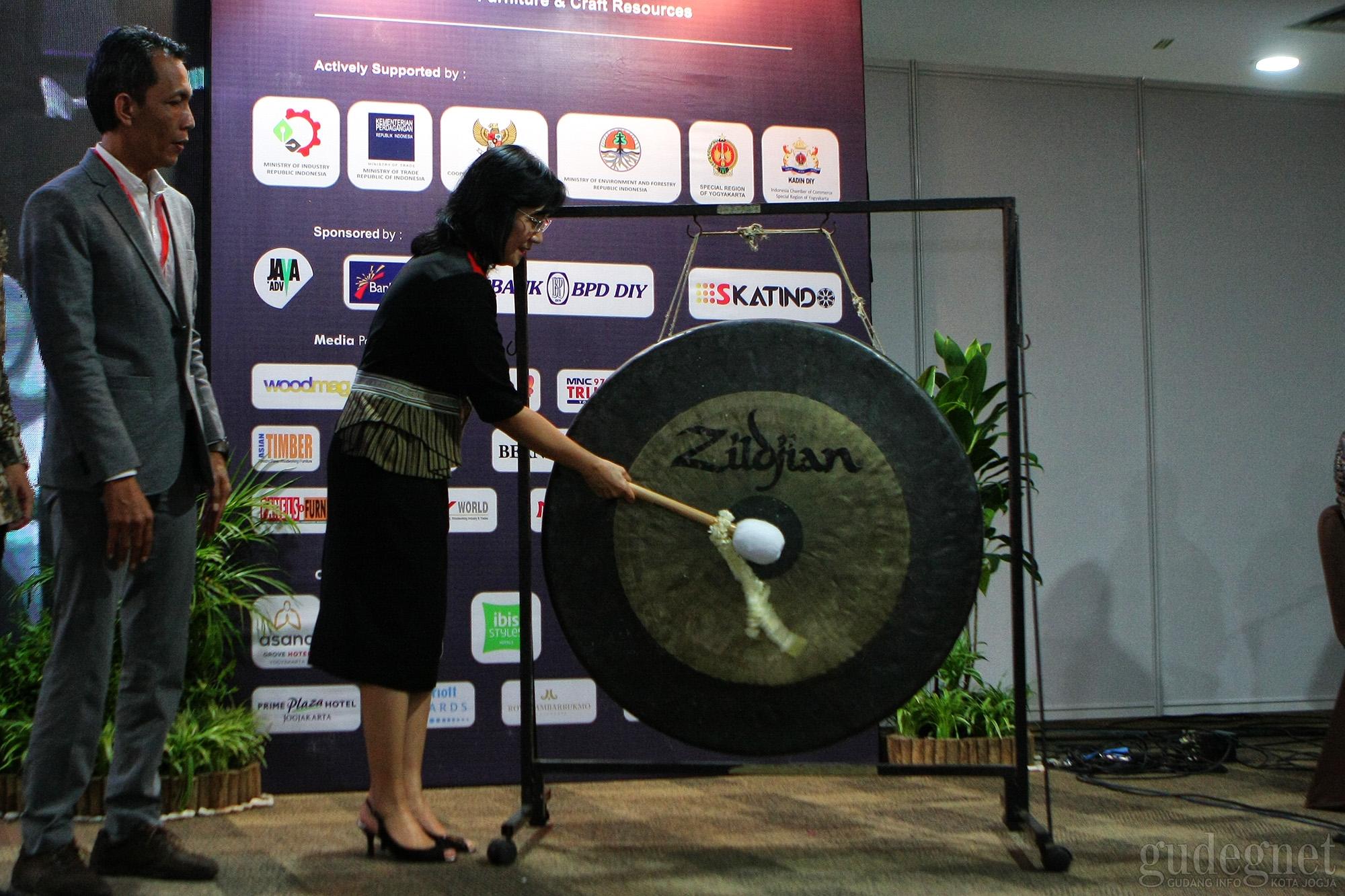 Dirjen IKMA Kemenperin RI Resmi Buka Jiffina 2019