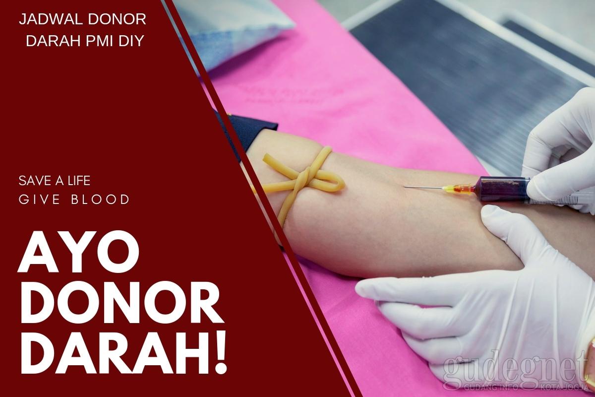 Jadwal Donor Darah 25-28 April 2019
