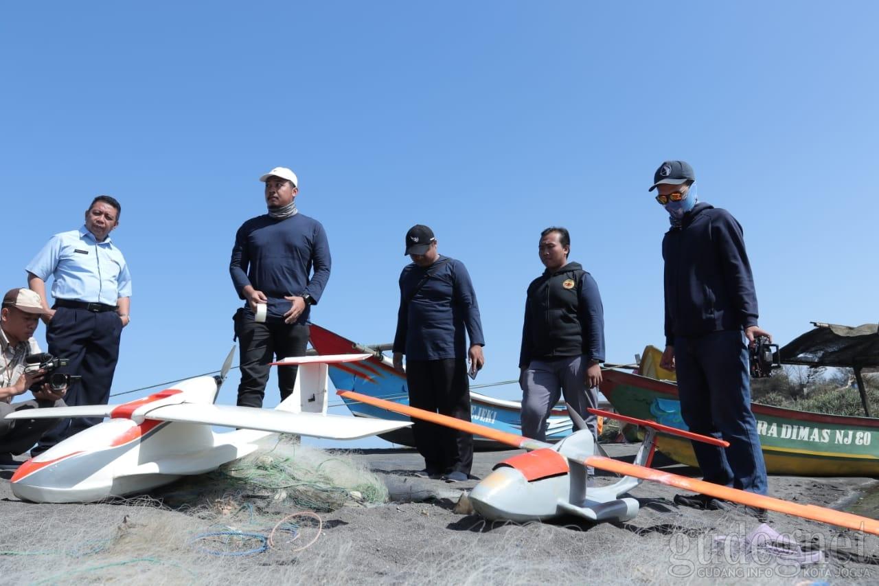 Dukung Kesiapsiagaan Tanggap Bencana, UGM Kembangkan Pesawat Nir Awak Amfibi