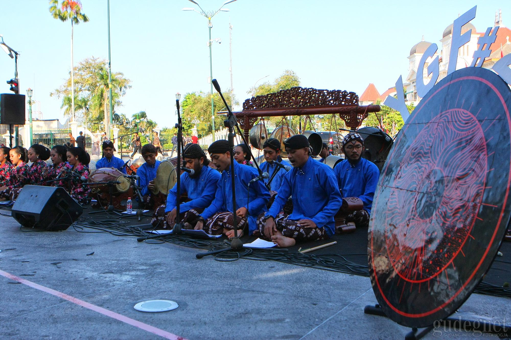 Gaung Gamelan, Pembuka Rangkaian YGF ke-24 di Titik Nol Yogyakarta