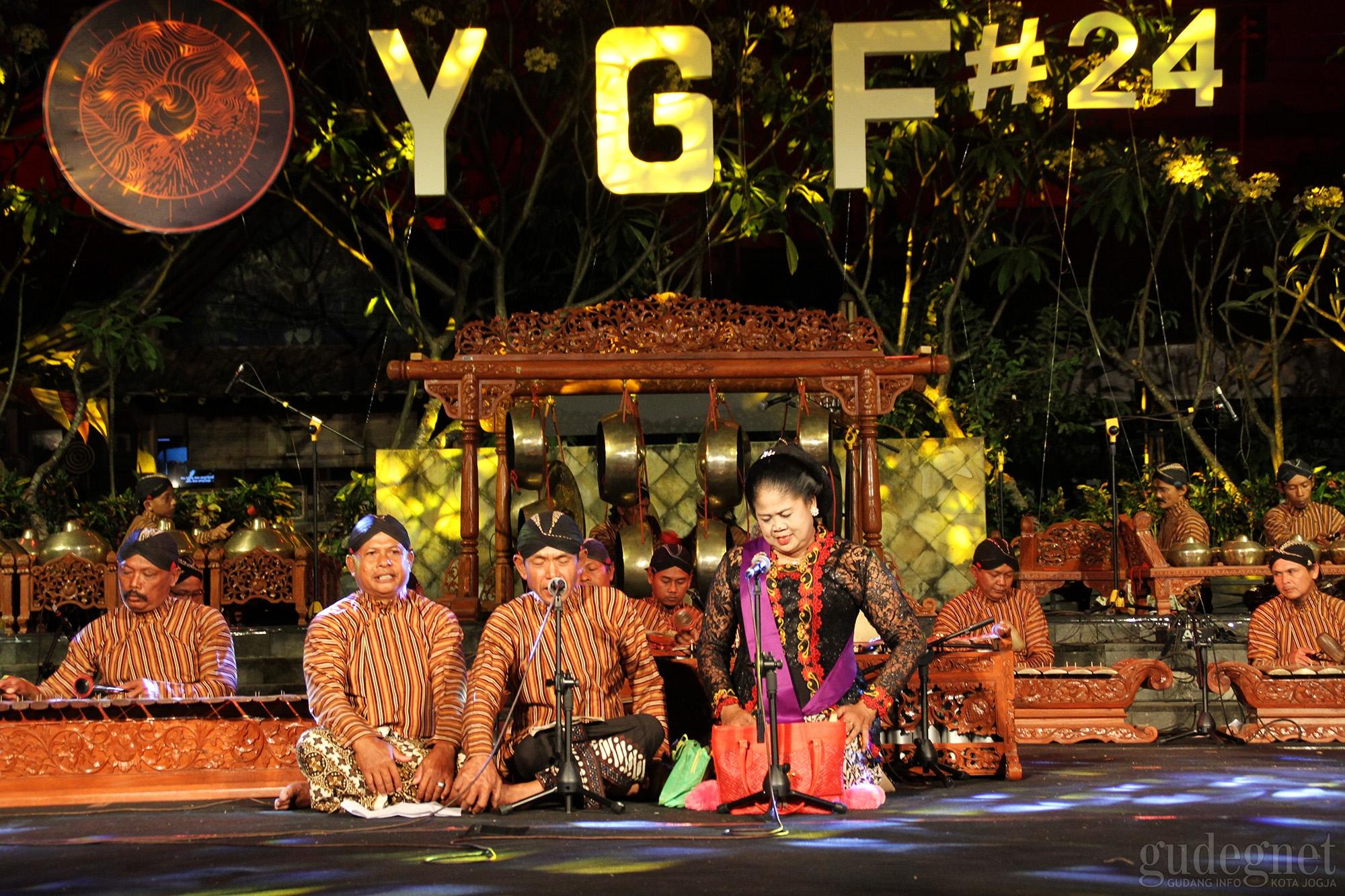 Ratusan Pecinta Gamelan Hadiri Gelaran YGF ke-24