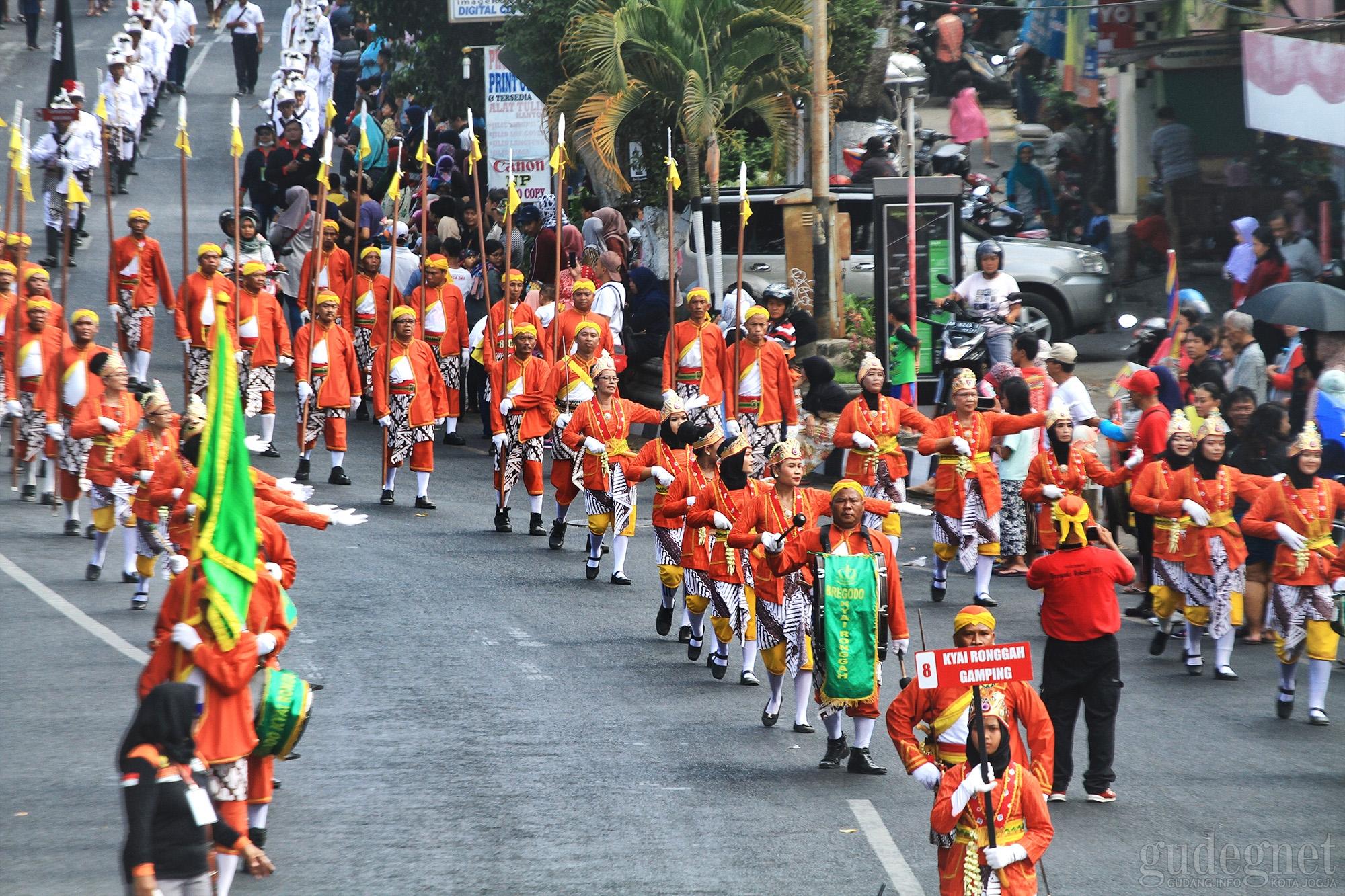 36 Kontingen Ikuti Festival Bregada Rakyat 2019