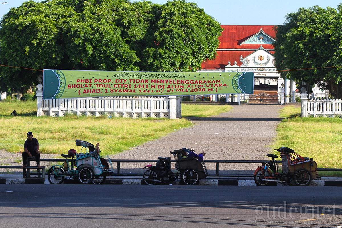 Tidak ada Salat Id di Alun-alun Utara Keraton Yogyakarta