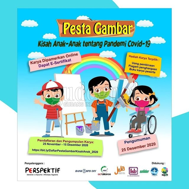 Yuk Ikut, Perspektif Yogyakarta Gelar Pesta Gambar untuk Anak