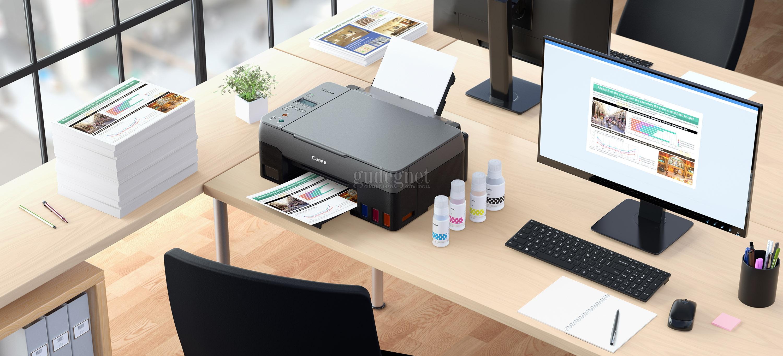 Canon Kenalkan Empat Printer G-Series