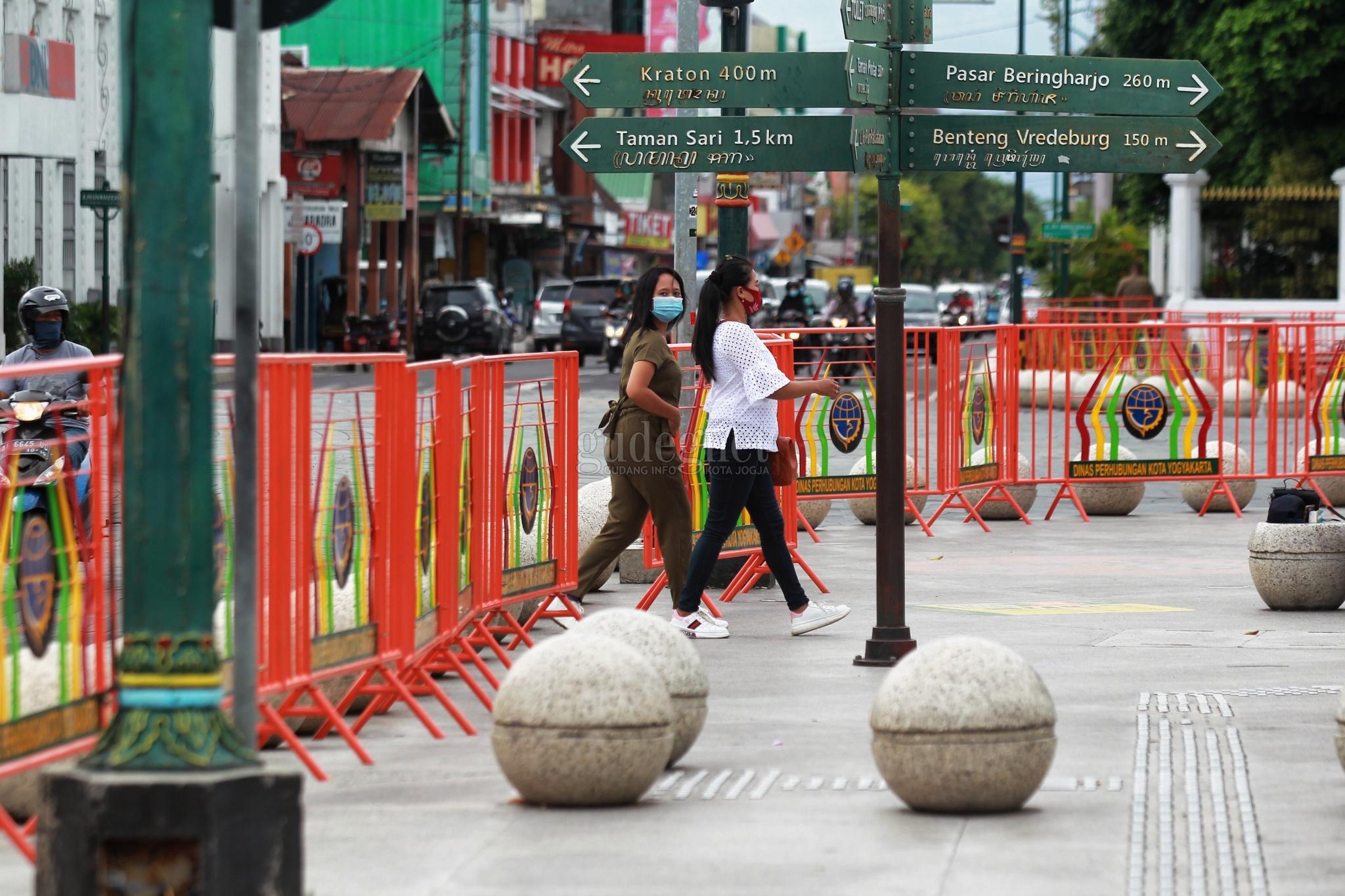 Cegah Kerumunan, Lokasi Wisata di Kota Yogyakarta Ini Dipagari