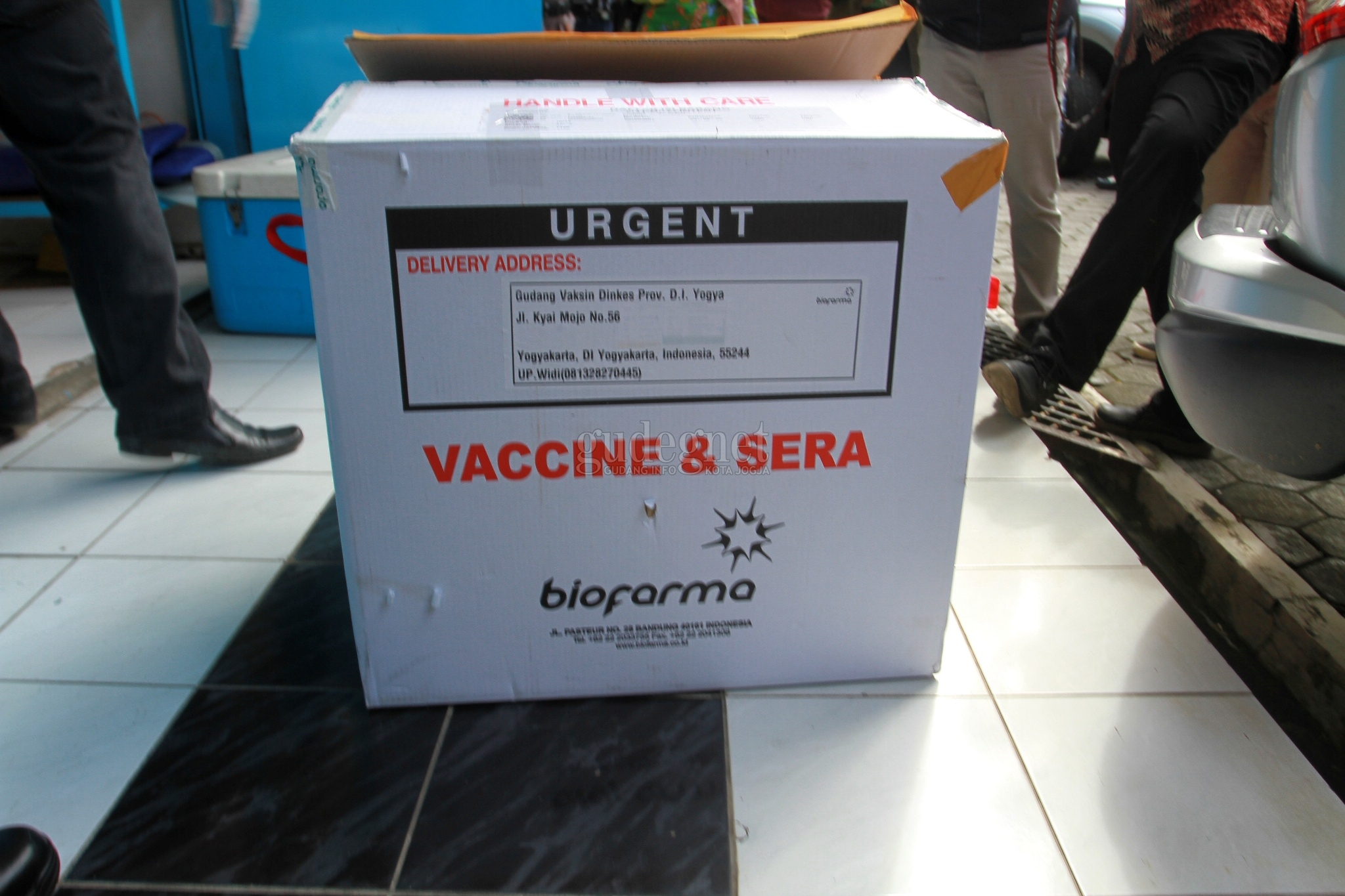 Dokter Tirta Ikut Kick Off Vaksinasi Covid-19 di Sleman