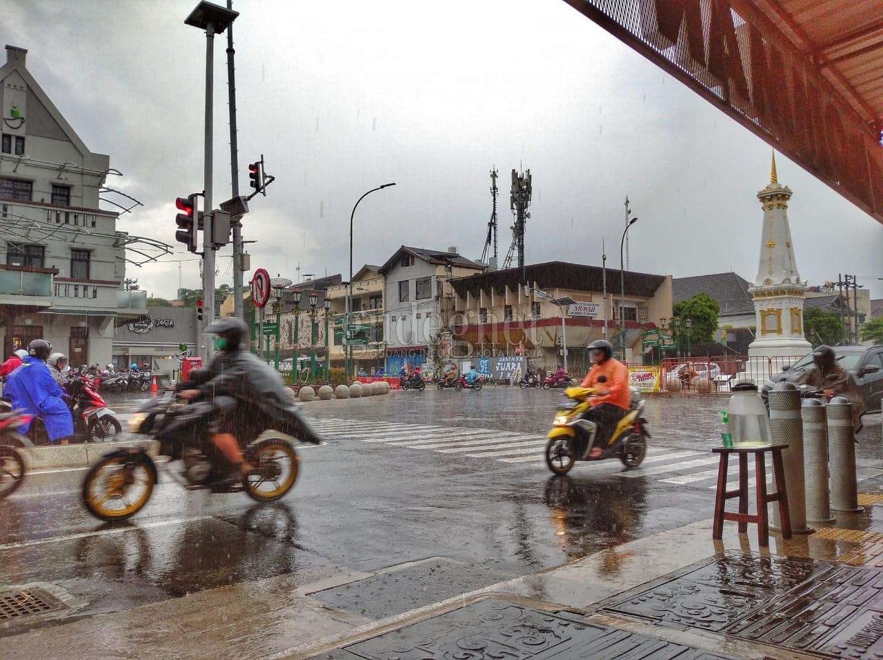 Prakiraan Cuaca DIY Sabtu 6 Februari 2021, Sebagian Wilayah Hujan
