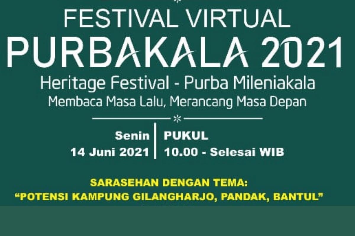 Festival Purbakala III Majukan Gilangharjo Sebagai Bagian Asal-usul Kraton Mataram