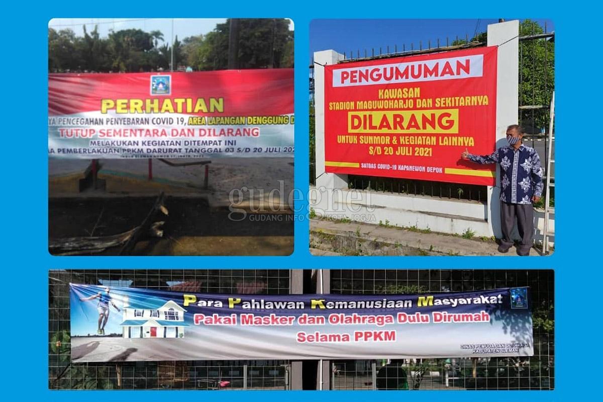 Lapangan Denggung dan Kawasan Stadion Maguwoharjo Ditutup