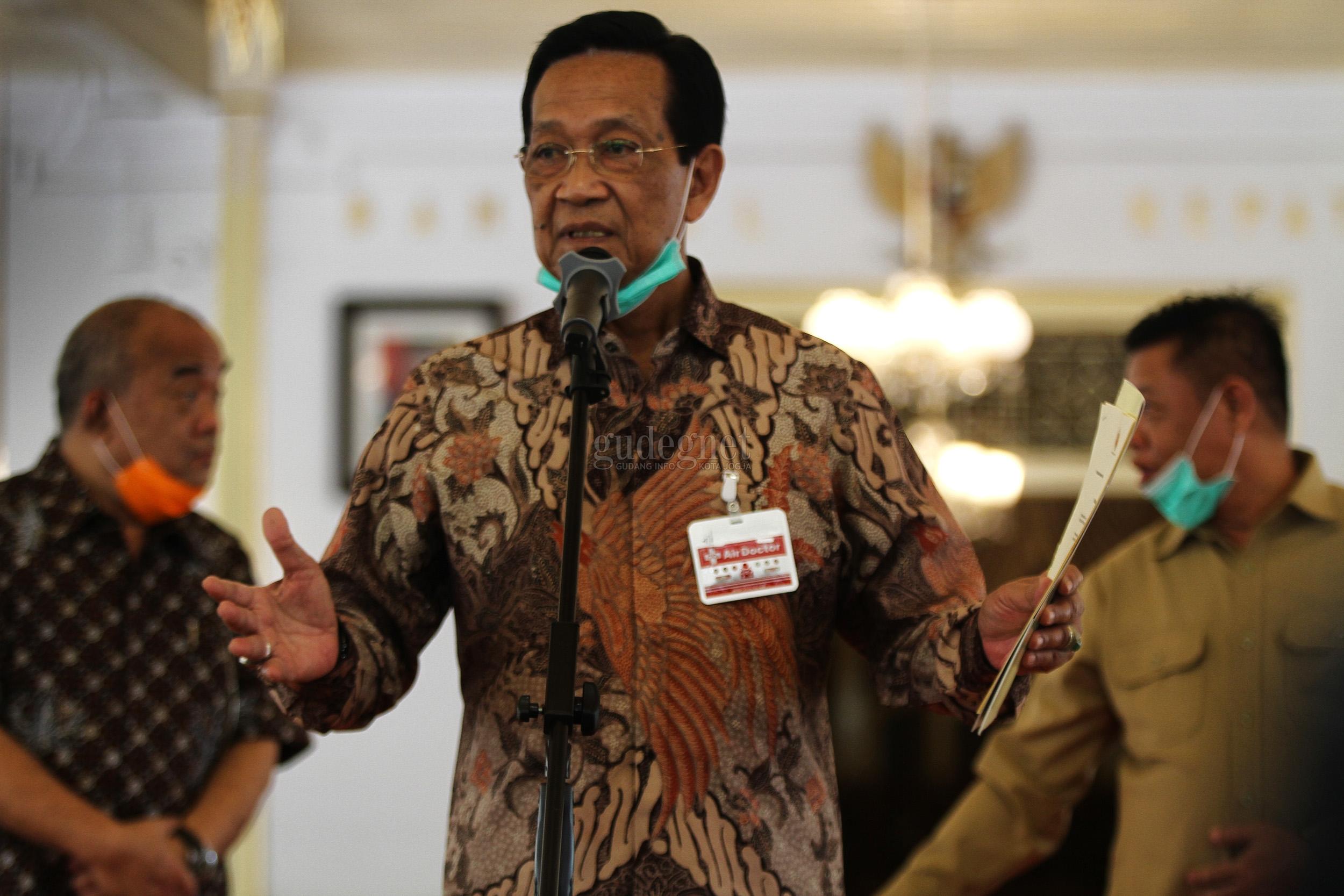 Sultan Ajak Masyarakat Sebarkan Virus Optimisme