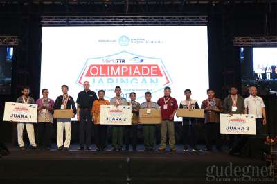 Going Home with Rp 25 Millions, SMK 7 Semarang Won The Network Olympic