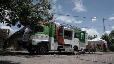 ACT Kerahkan Humanity Food Truck untuk Korban Banjir Bantul