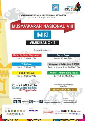 Musyawarah Nasional  VIII IMIKI tahun 2016