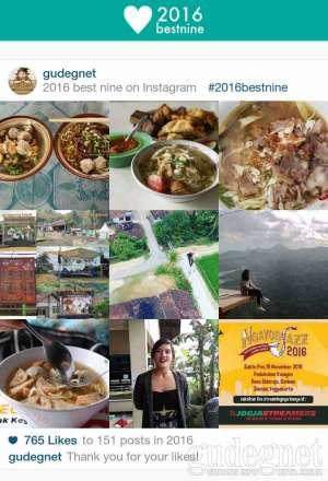 Mau Bikin Best Nine Instagram 2016? Gampang!