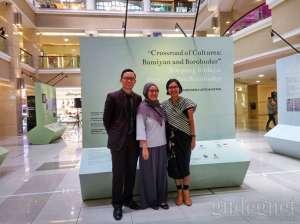 Pameran Simpang Budaya: Bamiyan dan Borobudur Digelar di Galeria Mall