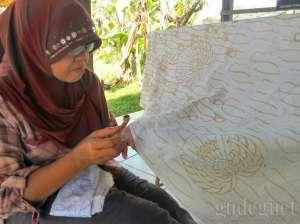 Kampung Batik Giriloyo, 4 Abad Membatik Tulis