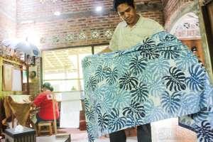 Batik Jolawe, Batik dengan Pewarna Alami