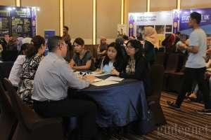 Ribuan Pengunjung Hadiri Pameran Pendidikan Inggris oleh British Council