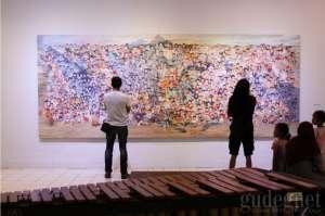 Liquid Colour, Lima Karakter dalam Sebuah Pameran Lukisan