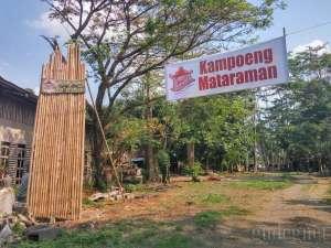 Suasana Tempo Dulu di Kampoeng Mataraman