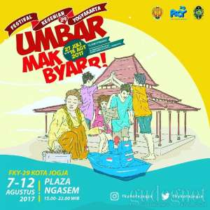 Ini Jadwal FKY Kota Jogja, 7-12 Agustus 2017