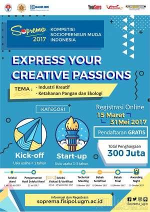 Sektor Industri Kreatif Mendominasi top 100 Kompetisi Wirausaha Soprema
