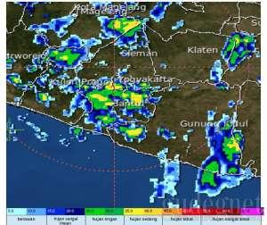 Hujan Bakal Merata di DIY dalam 2-3 Hari Mendatang