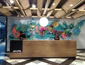 Artotel, Galeri Seni di Dalam Hotel