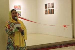 Alissa Wahid Buka Pameran Foto Sewindu Haul Gus Dur