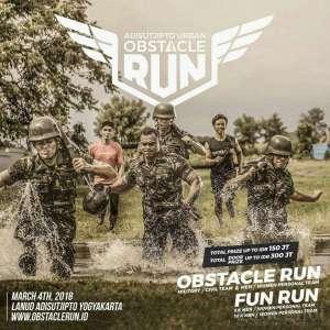 4000 Pelari Bakal Bertanding di Obstacle Run 2018