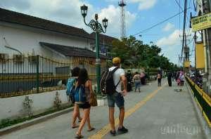 Pembangunan Jalur Pedestrian Stasiun Tugu Segera Rampung