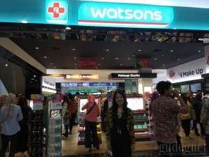 Jawab Kebutuhan Konsumen, Watsons Buka Gerai di Amplaz