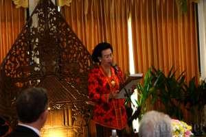 GKR Hemas : Batik Bisa Menjadi Kekuatan Ekonomi Berbasis Budaya Bagi Dunia