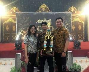 Lomba Karya Tulis Ilmiah di UNS, UAJY Raih Juara 3