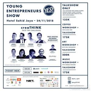YES! 2018 Bawa Anak Muda ke Potensi Usaha Mandiri